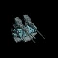 ボフォース40mm対空機関砲(連装)