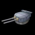 イギリス15inch連装砲