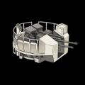 イギリスボフォース40mm機関砲(六連装
