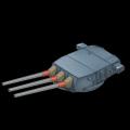 アメリカ16inch三連装砲(MK6)