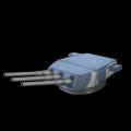 アメリカ12inch三連装砲