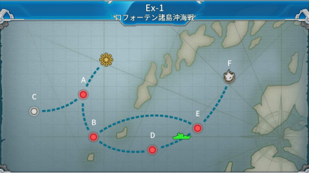 Ex-1 ロフォーテン諸島沖海戦