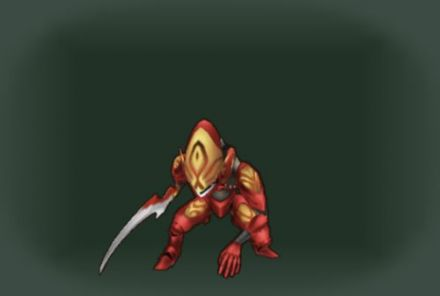 魔族兵・赤刃