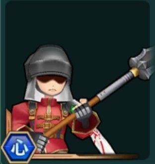 制服の槍兵